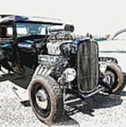Blown Coupe Poster by Steve McKinzie