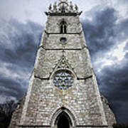 Bodelwyddan Church Poster by Meirion Matthias