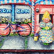 Bon Bon Betty Poster by Alison  Galvan