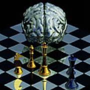 Brainpower Poster by Laguna Design
