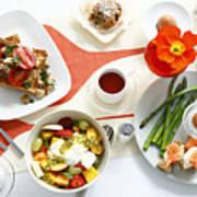 Breakfast Dishes On Table Poster by Cultura/BRETT STEVENS