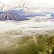 Bromo Volcano Crater Poster by Photography by Daniel Frauchiger, Switzerland