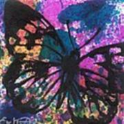 Butterfly Bliss Poster by Oddball Art Co by Lizzy Love