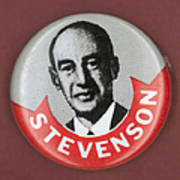 Campaign Button Poster by Granger