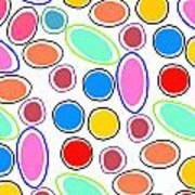 Candy Spots Poster by Louisa Knight