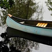 Canoe Poster by Odd Jeppesen