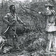 Capture Of Nat Turner, American Rebel Poster by Photo Researchers