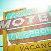 Carlyle Motel Poster by David Waldo