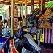Carousel Fun Poster by Bob Whitt