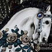 Carousel Horse - 8 Poster by Paul Ward