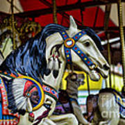 Carousel Horse 6 Poster by Paul Ward