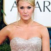 Carrie Underwood At Arrivals For The Poster by Everett