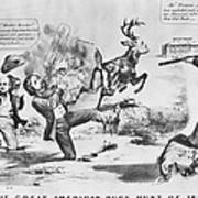 Cartoon: Election Of 1856 Poster by Granger