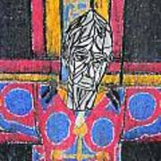 Catalan Jesus Poster by Marwan George Khoury