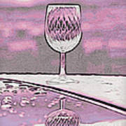 Cheers On Icy Snow Poster by Phyllis Kaltenbach
