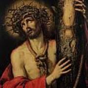 Christ Man Of Sorrows Poster by Antonio Pereda y Salgado