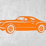 Classic Car 2 Poster by Naxart Studio