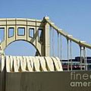 Clemente Bridge Poster by Chad Thompson