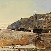 Coastal Scene Poster by Henry Moore