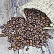 Coffee Beans Poster by Joana Kruse