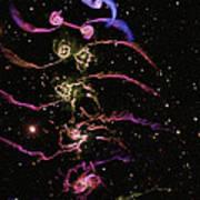 Colliding Galaxies Poster by Tiziana Di Matteovolker Springellars Hernquist