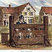 Colonial Stocks Poster by Granger