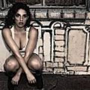 Concrete Velvet 10 Poster by Donna Blackhall