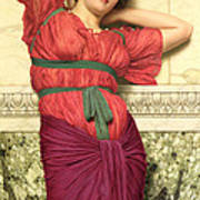 Contemplation Poster by John William Godward