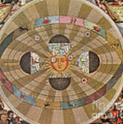 Copernican World System, 17th Century Poster by Science Source