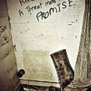 Corner Of Threat  Poster by Jerry Cordeiro