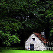 Cottage In The Woods Poster by Fabrizio Troiani