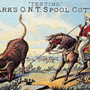 Cotton Thread Trade Card Poster by Granger