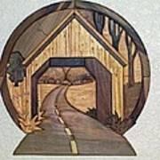 Covered Bridge Poster by Bill Fugerer