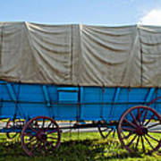 Covered Wagon Poster by Steve Harrington