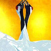 Cranes Poster by Ilias Athanasopoulos