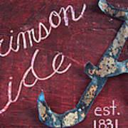 Crimson Tide Poster by Racquel Morgan