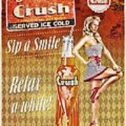 Crush Poster by Mo T