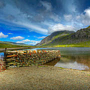 Cwm Idwal Poster by Adrian Evans
