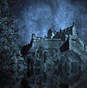 Dark Castle Poster by Svetlana Sewell