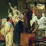 Dealer In Statues  Poster by Sir Lawrence Alma-Tadema