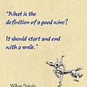 Definition Of Wine Poster by Elaine Plesser