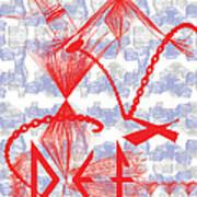 Defstick Poster by Foltera Art