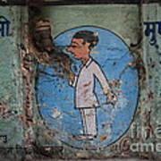 Delhi Smoker Poster by Jen Bodendorfer