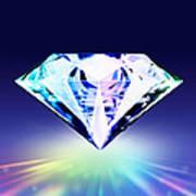 Diamond Poster by Setsiri Silapasuwanchai