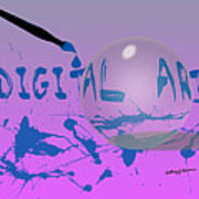 Digital Art Poster by Anthony Caruso