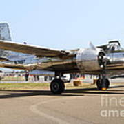 Douglas A26b Military Aircraft 7d15757 Poster by Wingsdomain Art and Photography
