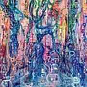 Dream Of Our Souls Awake Poster by Regina Valluzzi