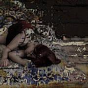 Dreams Amongst Driftwood Poster by Adam Kissel