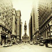 Dreamy Philadelphia Poster by Bill Cannon