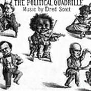 Dred Scott & The 1860 Presidential Race Poster by Photo Researchers